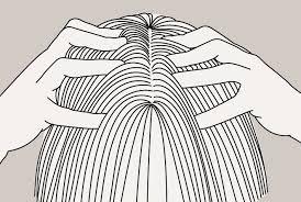 massage du cuir chevelu