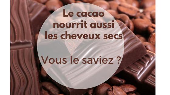 beurre de cacao nourrissant pour les cheveux secs et anti cellulite