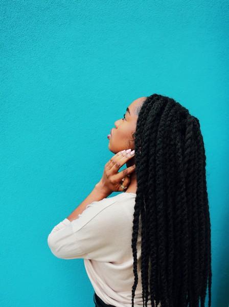 coiffure hiver vanilles braids cheveux crepus afro