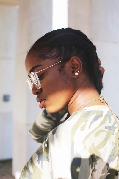 coiffure protectrice tresse cheveux crepus afro