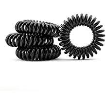 élastiques en spirale pour cheveux bouclés à crépus