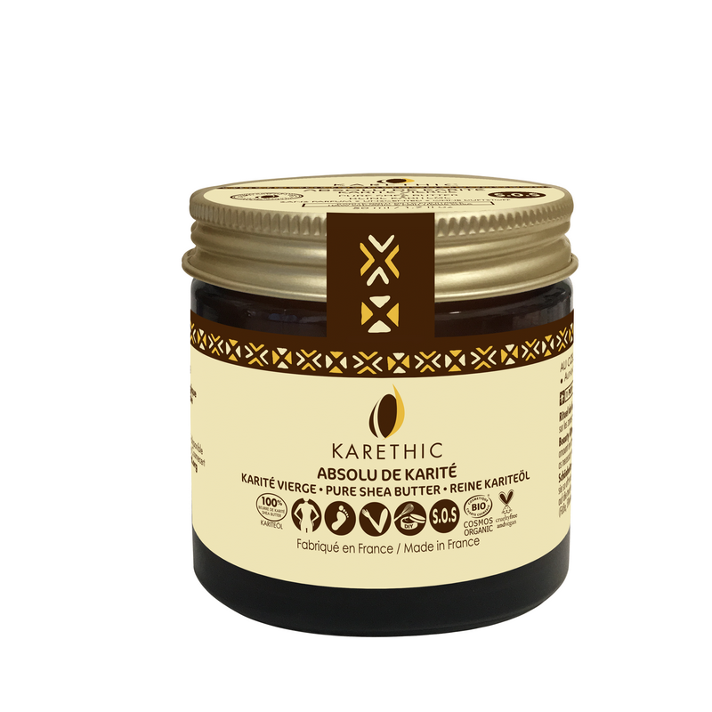 absolu beurre karite cheveux secs karethic