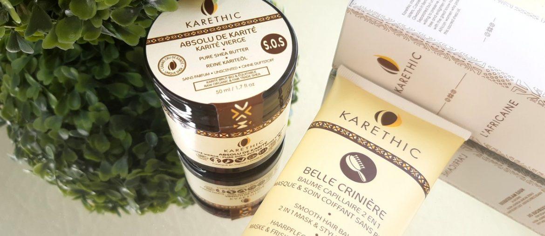 zoom karethic beurre karite cheveux secs crepus