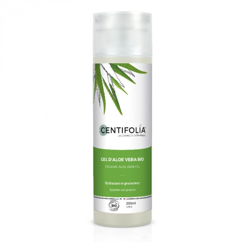 gel d aloe vera bio cheveux boucles centifolia